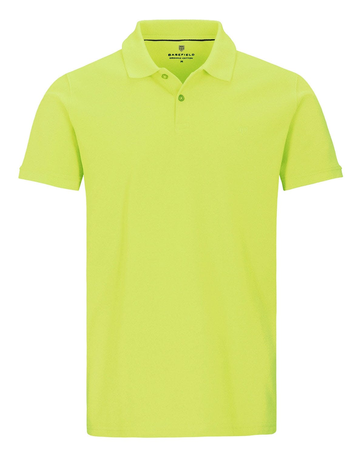 ORGANIC COTTON Polo Pique - Bright Lime