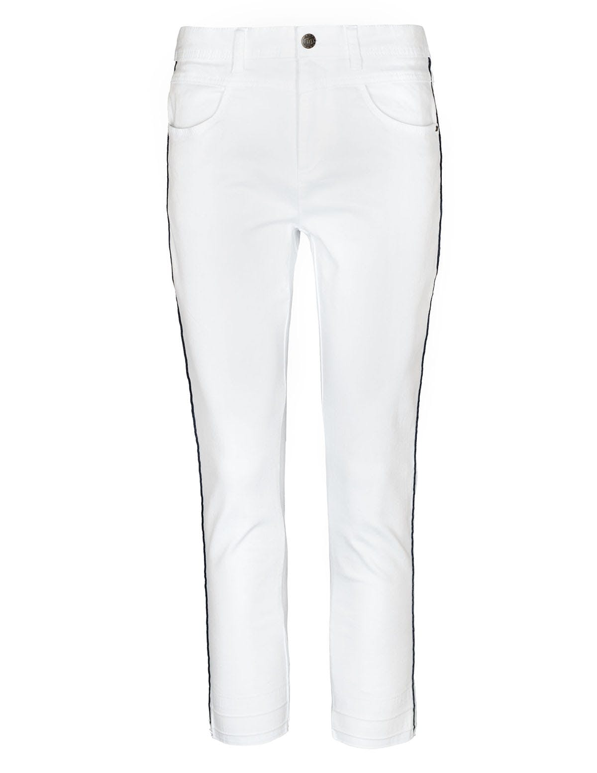 FRY DAY Jeans-Hose - White