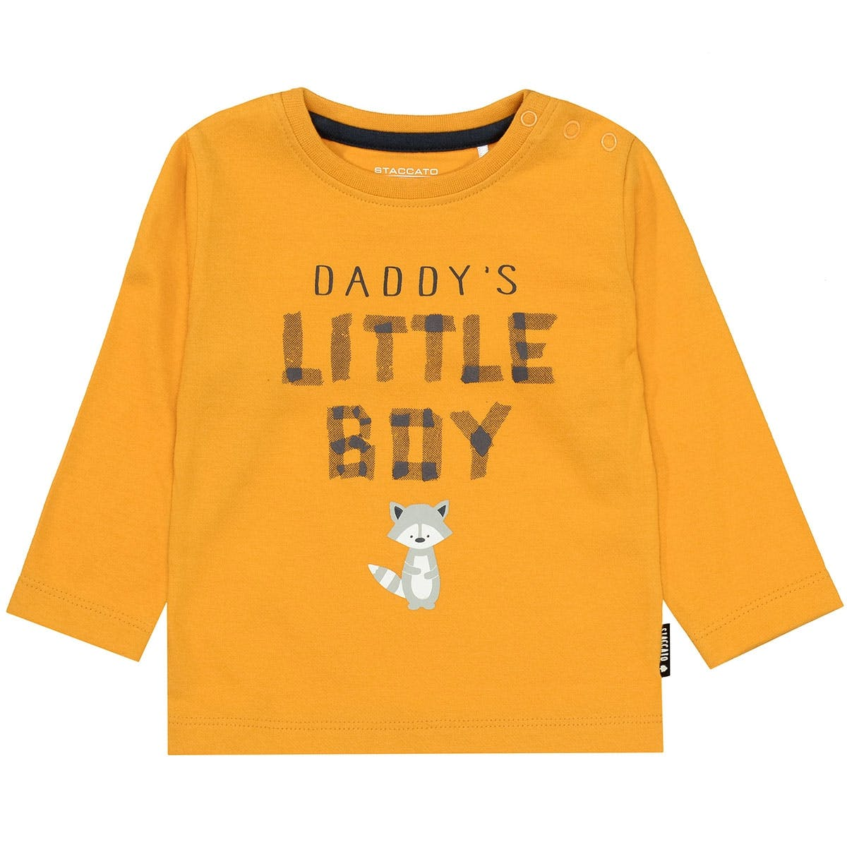 Langarmshirt LITTLE BOY - Bright Curry
