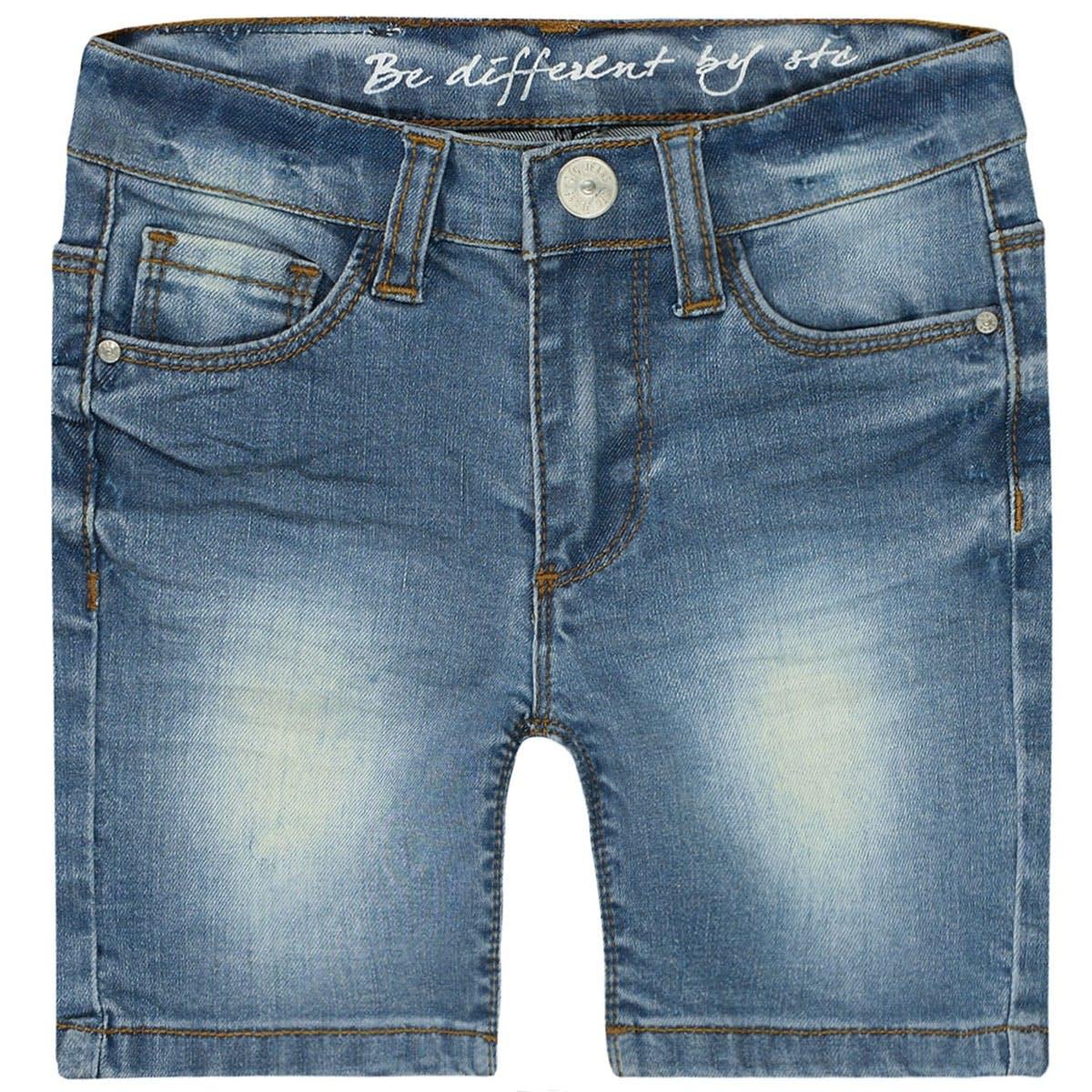 Mädchen Jeans Shorts Slim Fit - Light Blue Denim