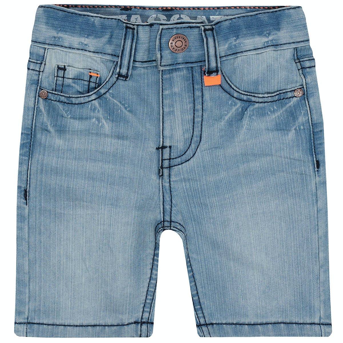 Jeans Bermudas Slim Fit - Light Blue Denim