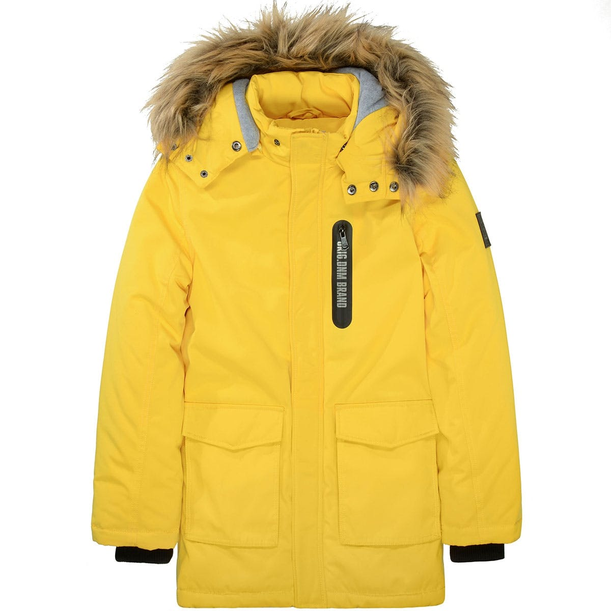 Kids Parka Find your Way - Yellow