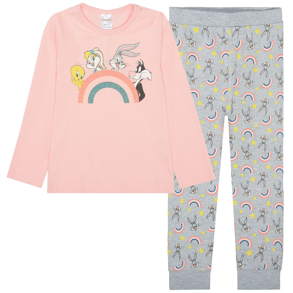 Pyjama Looney Tunes - Blush