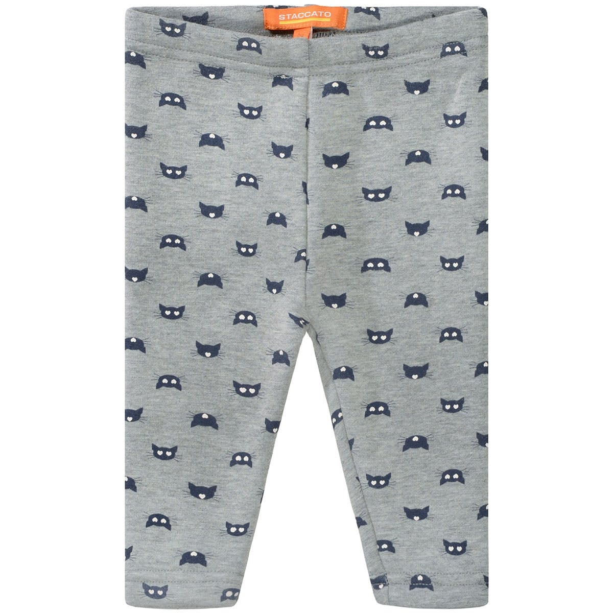 Baby Thermo Leggings Cats - Grey