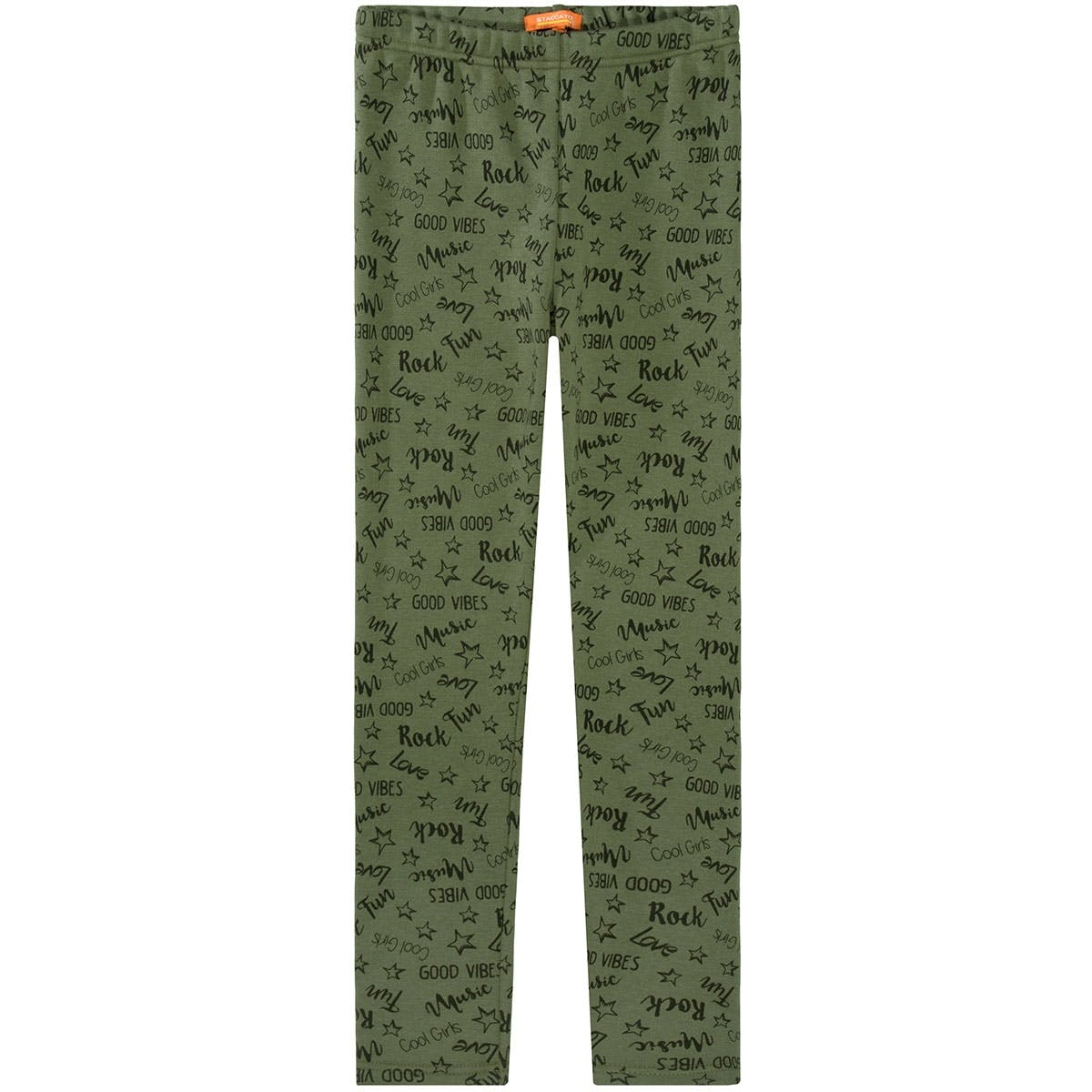 Thermoleggings Alloverprint - Khaki