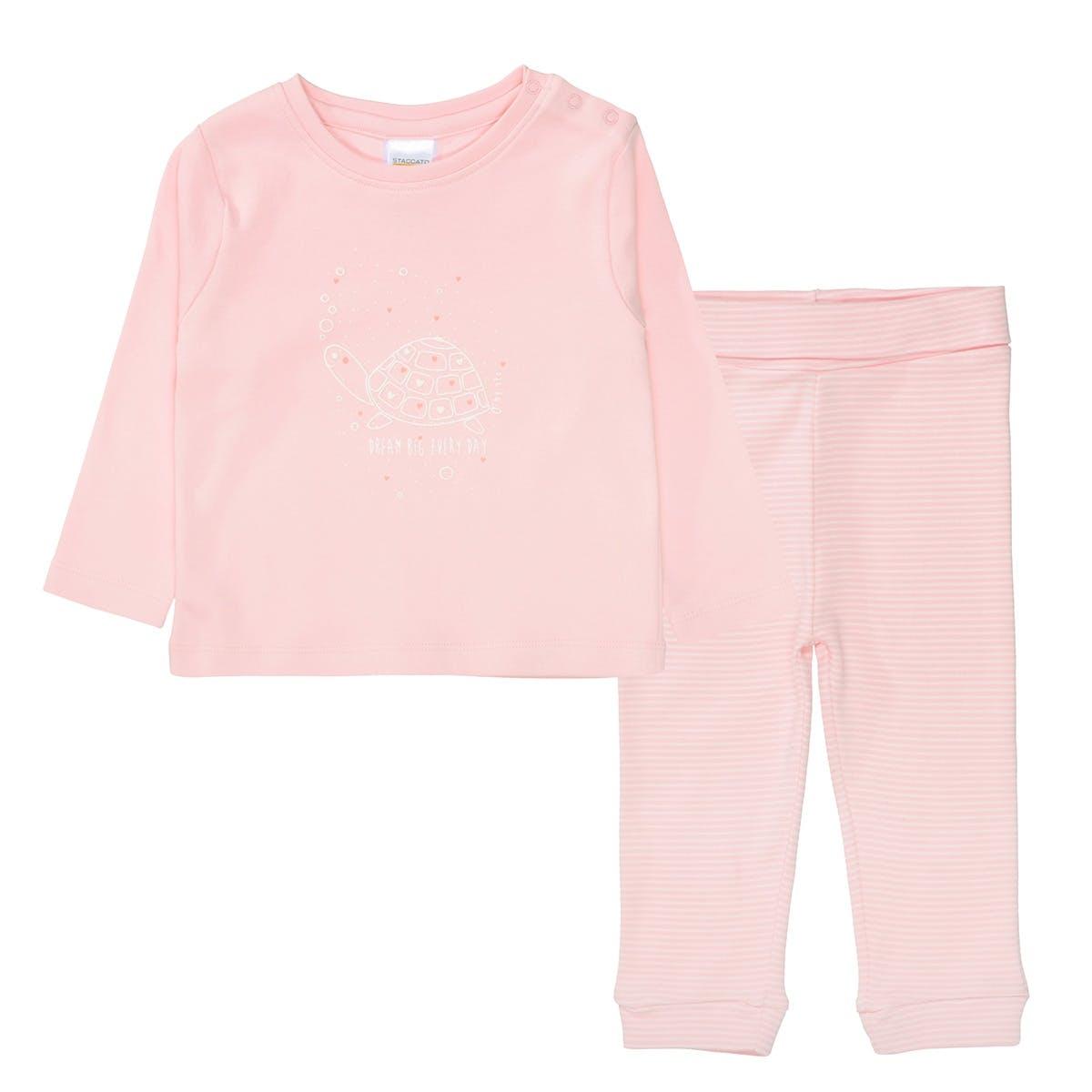 ORGANIC COTTON Pyjama DREAM BIG - Rosa