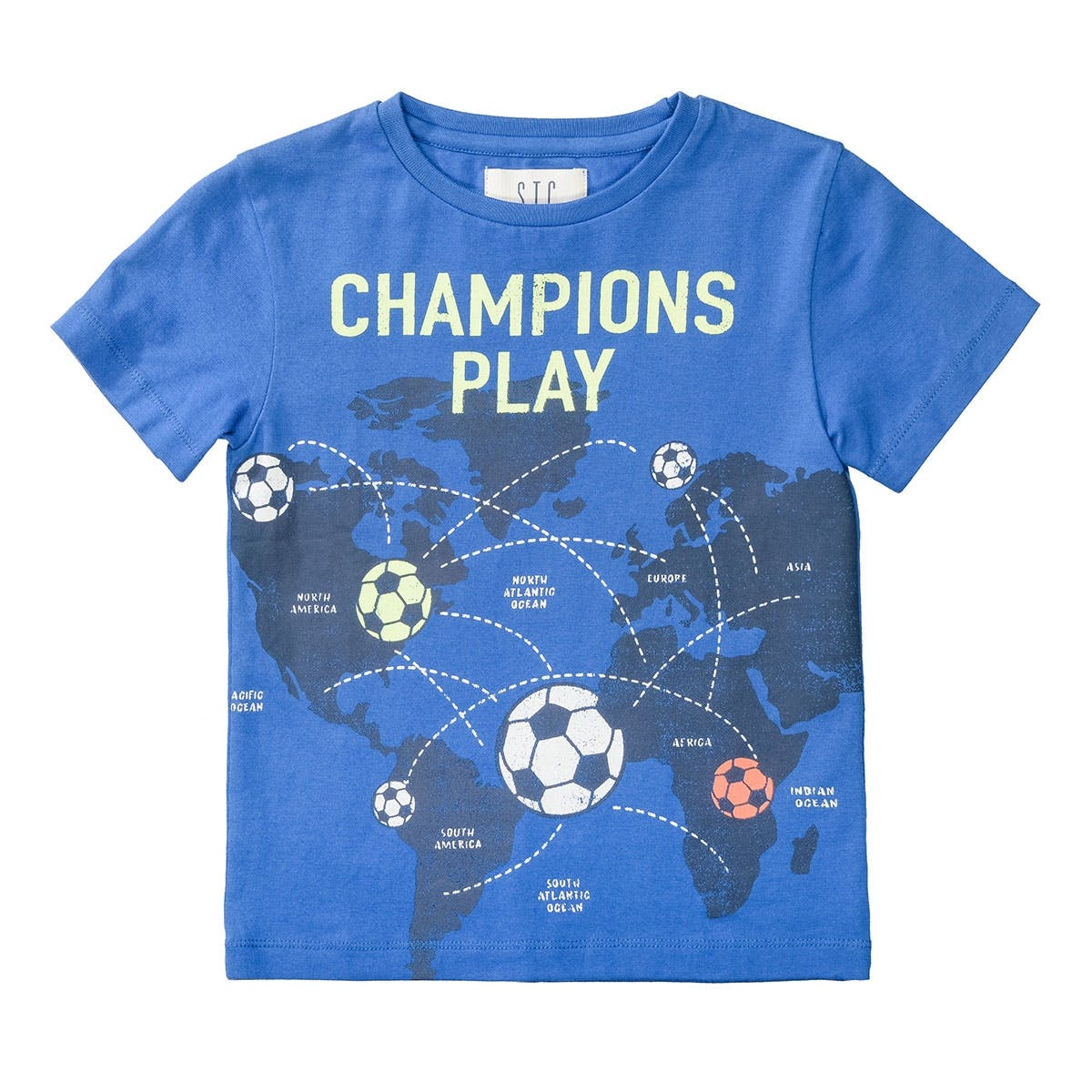 T-Shirt CHAMPIONS - Royal Blue