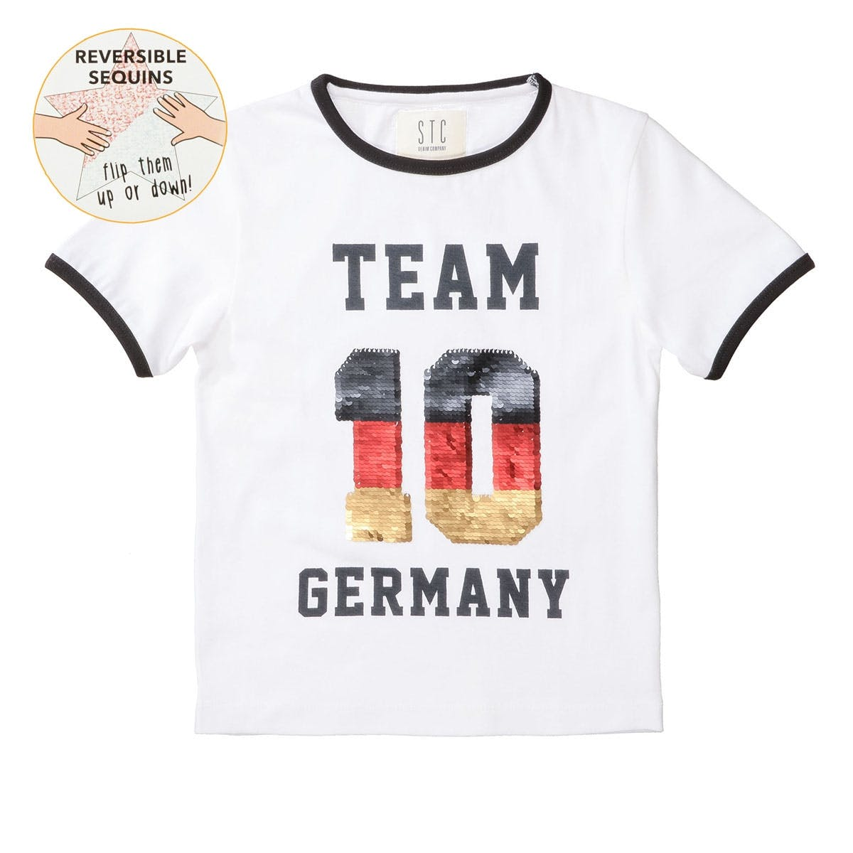 T-Shirt TEAM GERMANY - White