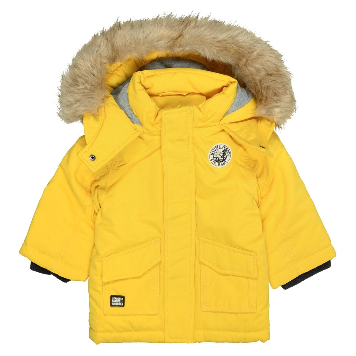 Parka Nature Friends - Yellow
