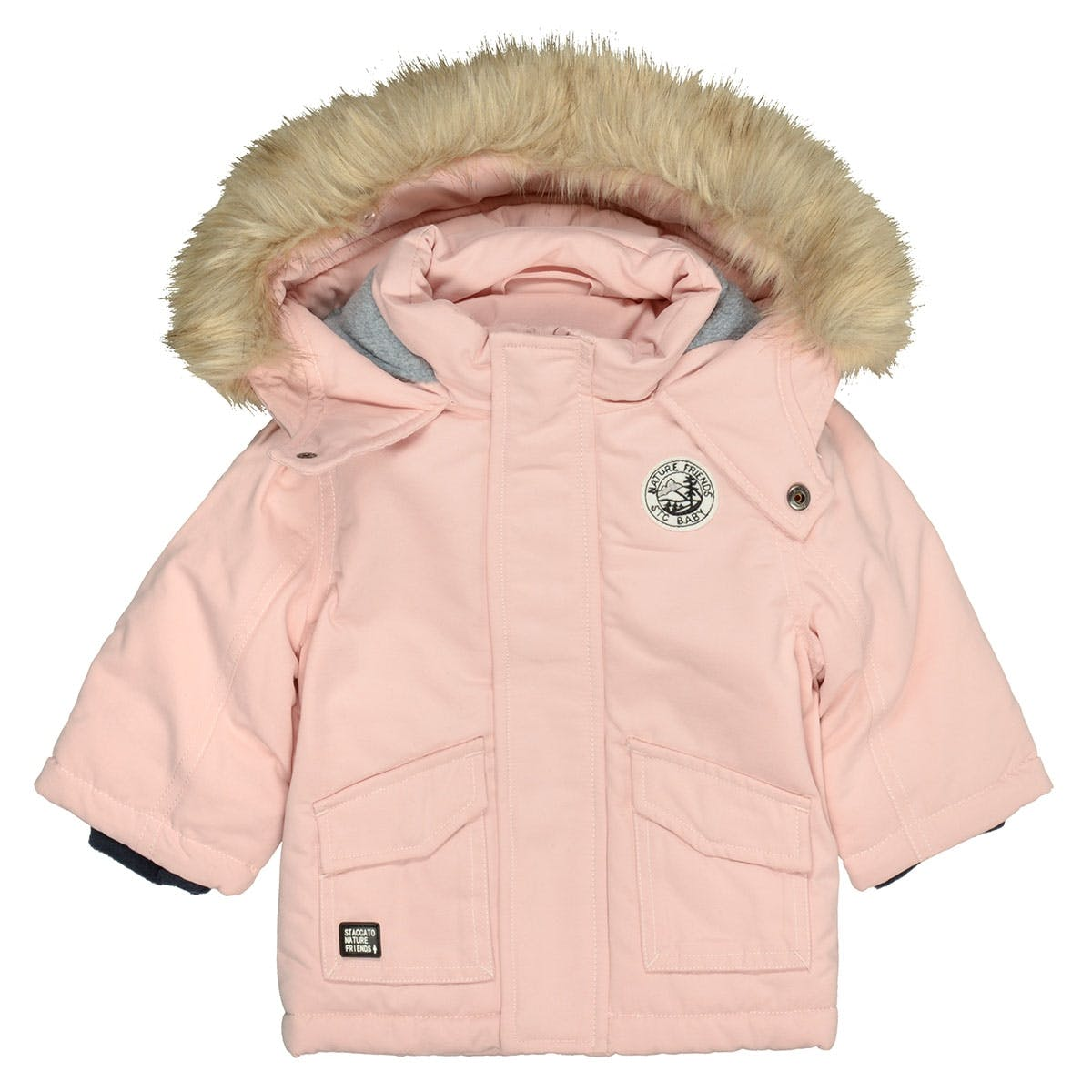 Parka Nature Friends - Rosa