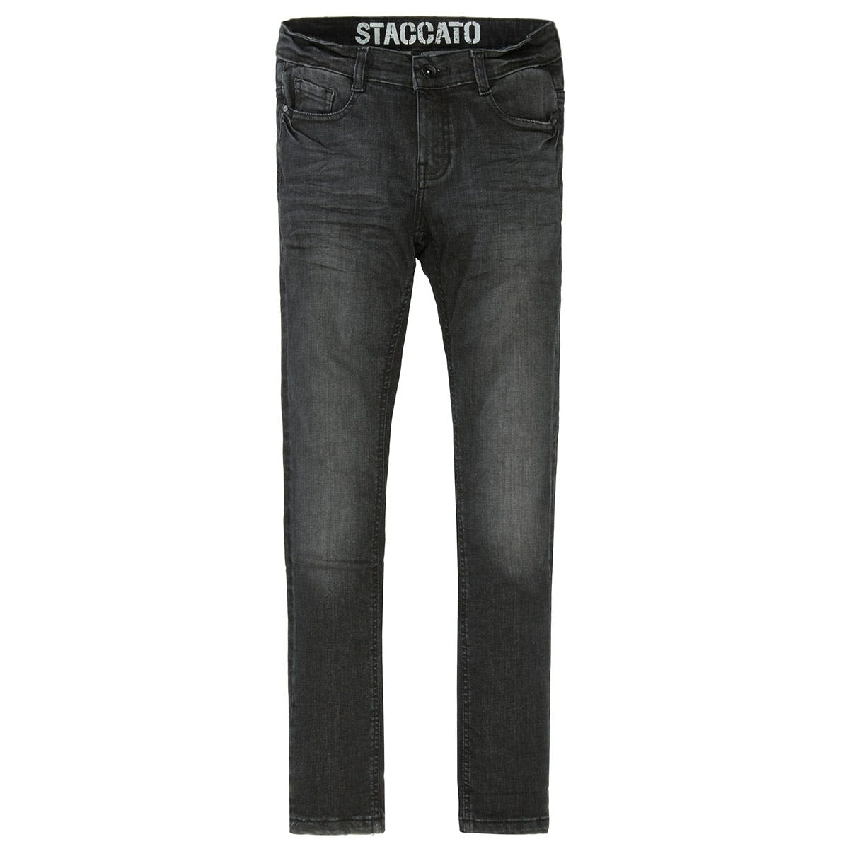 Skinny Jeans Big Fit - Black Denim