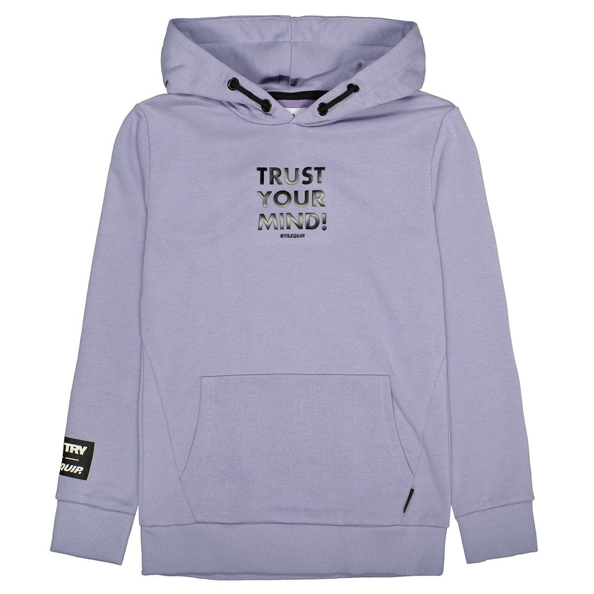 Hoodie TRUST YOUR MIND - Lilac