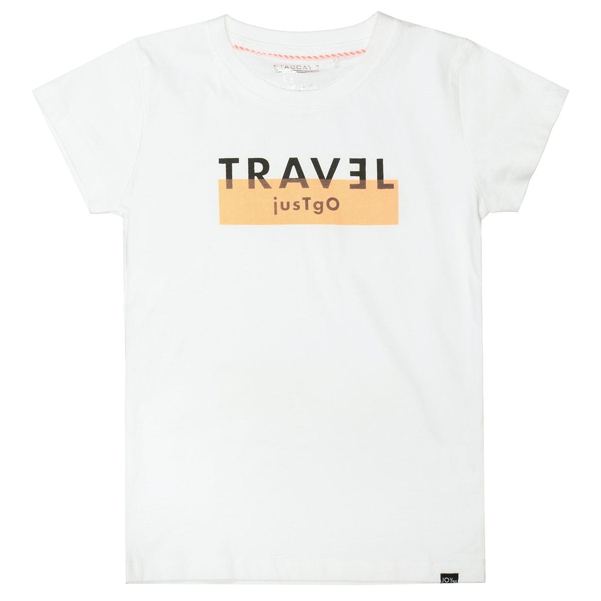 T-Shirt TRAVEL - White