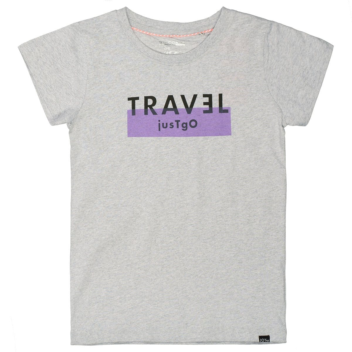 T-Shirt TRAVEL - Mid Grey