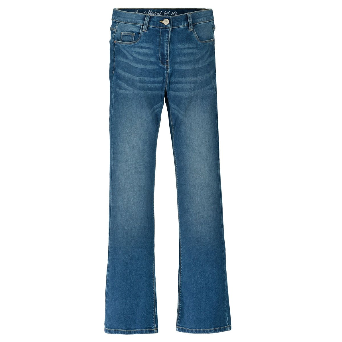 Mädchen Jeans Slim Fit - Mid Blue Denim
