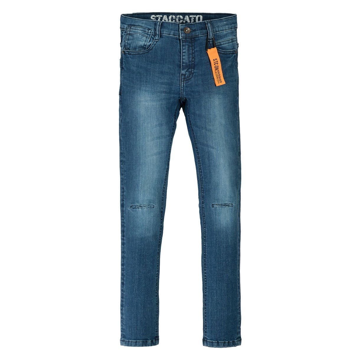 Jungen Skinny Jeans Slim Fit - Blue Denim