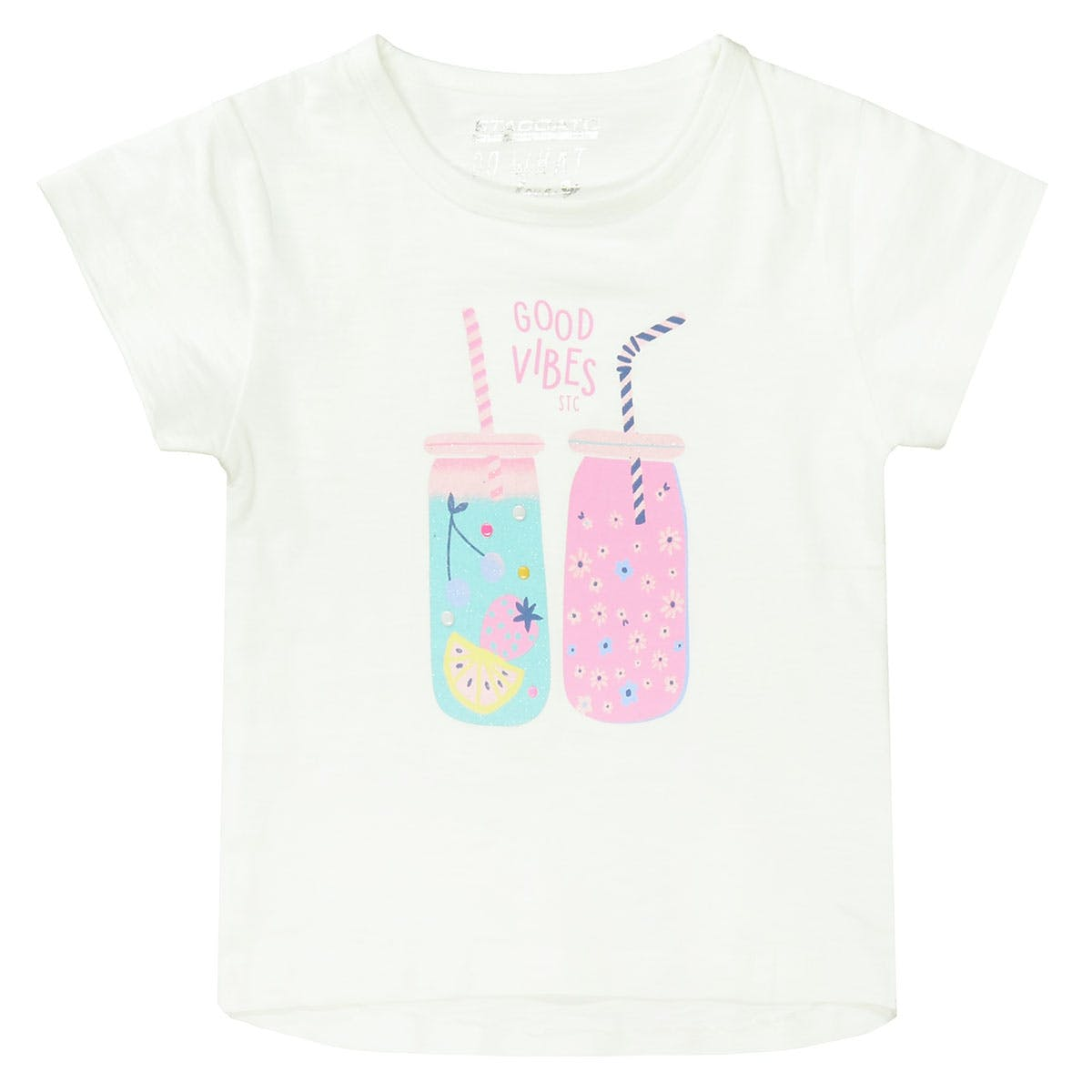T-Shirt GOOD VIBES - Offwhite
