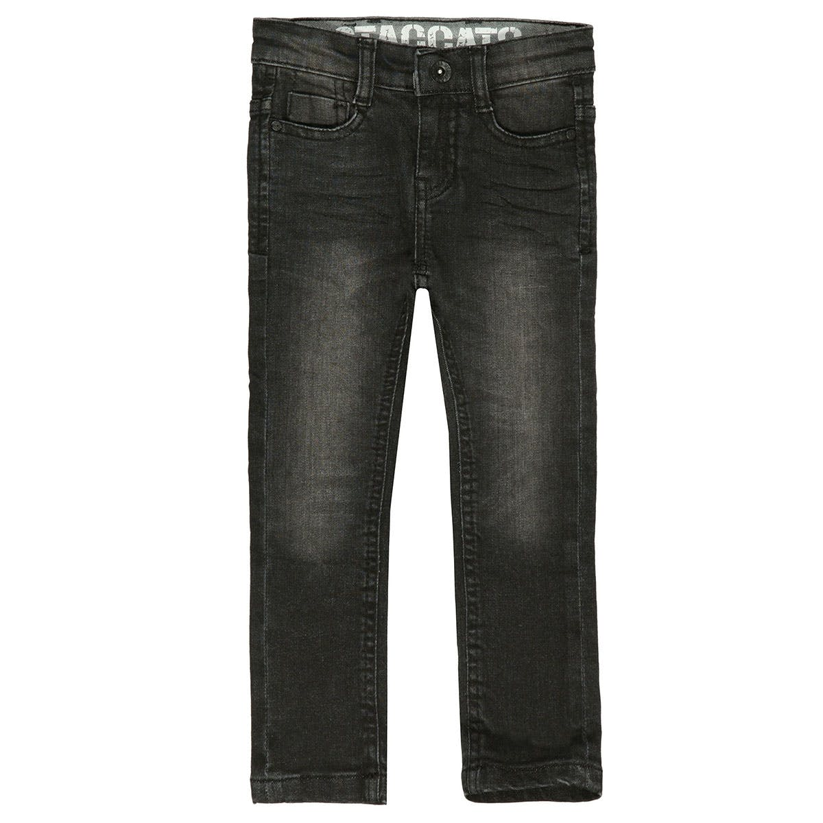 Jungen Skinny Jeans Slim Fit - BEN - Black Denim