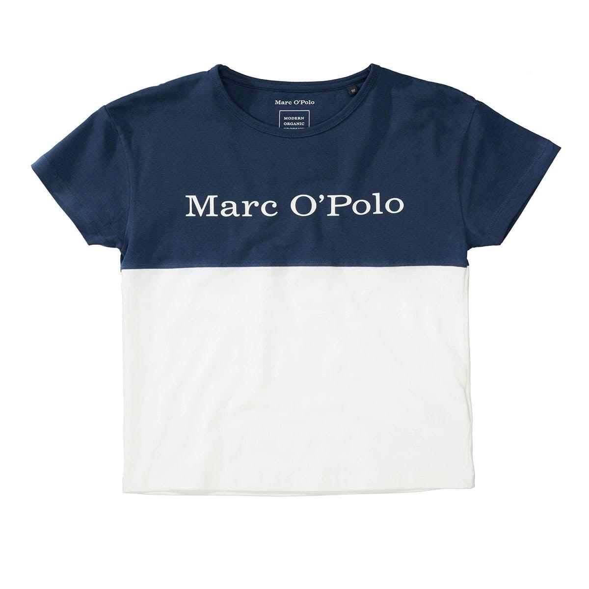 MARC O'POLO T-Shirt aus Bio-Baumwolle - Washed Blue
