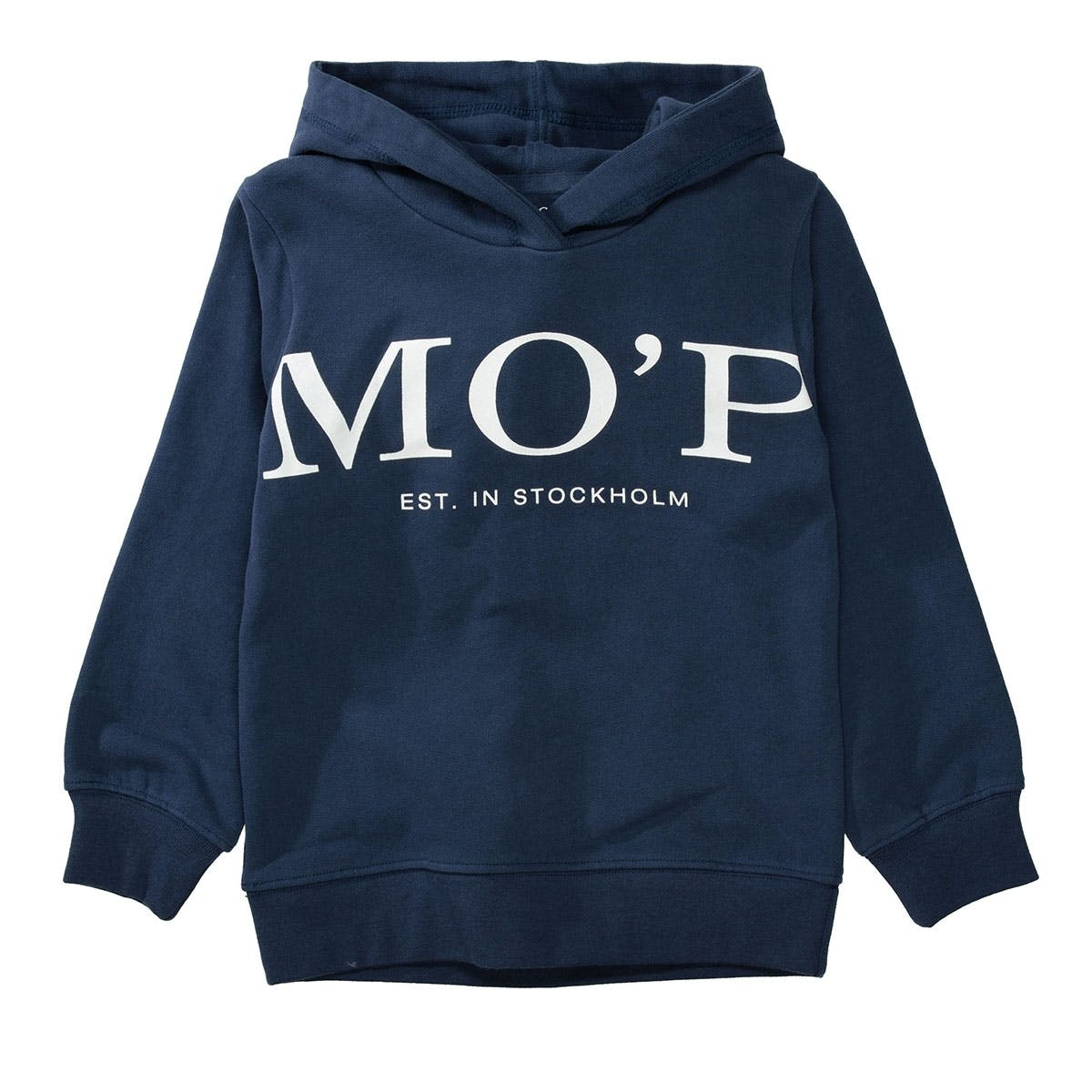 MARC O'POLO Hoodie aus Bio-Baumwolle - Washed Blue
