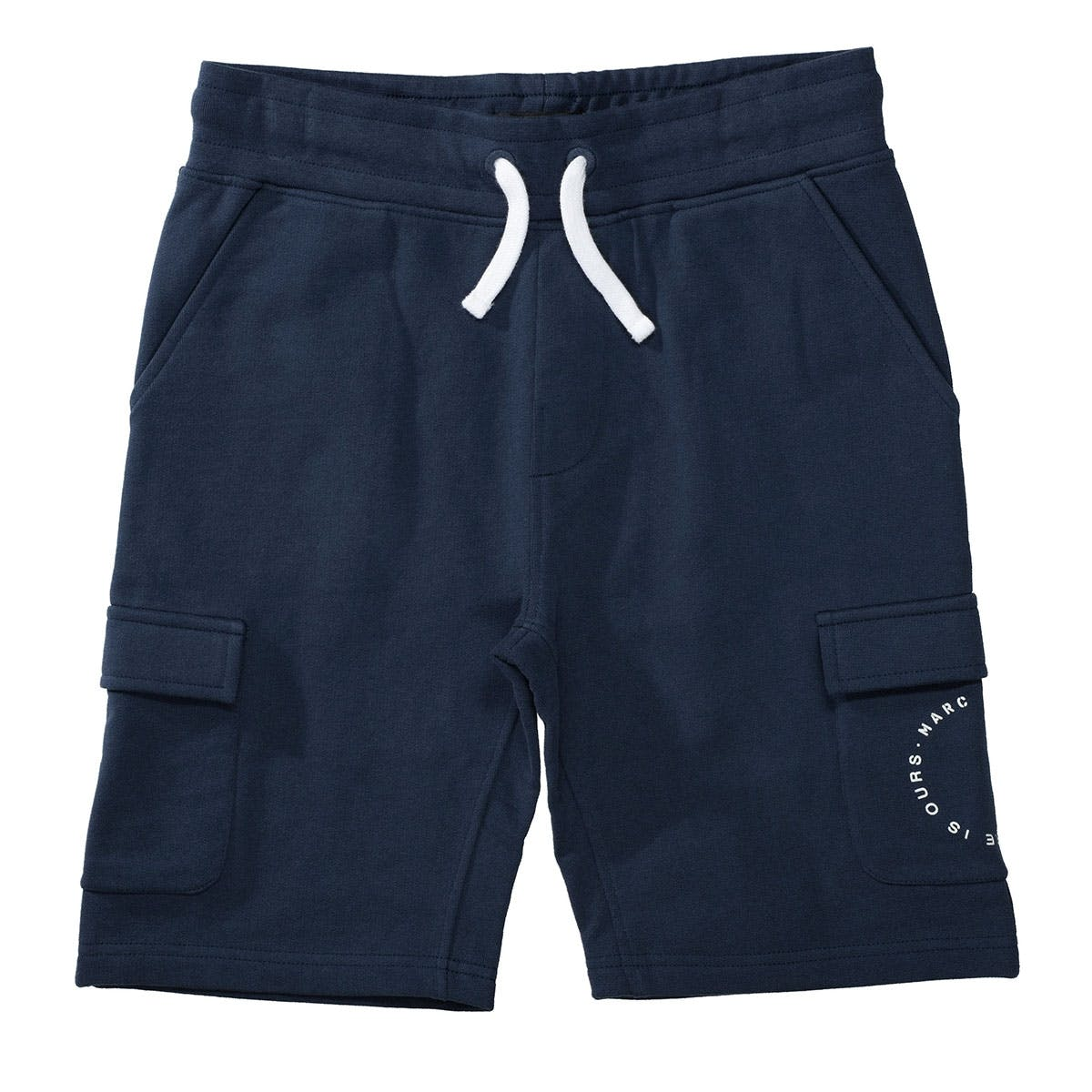 MARC O'POLO Sweatshorts aus Bio-Baumwolle - Washed Blue