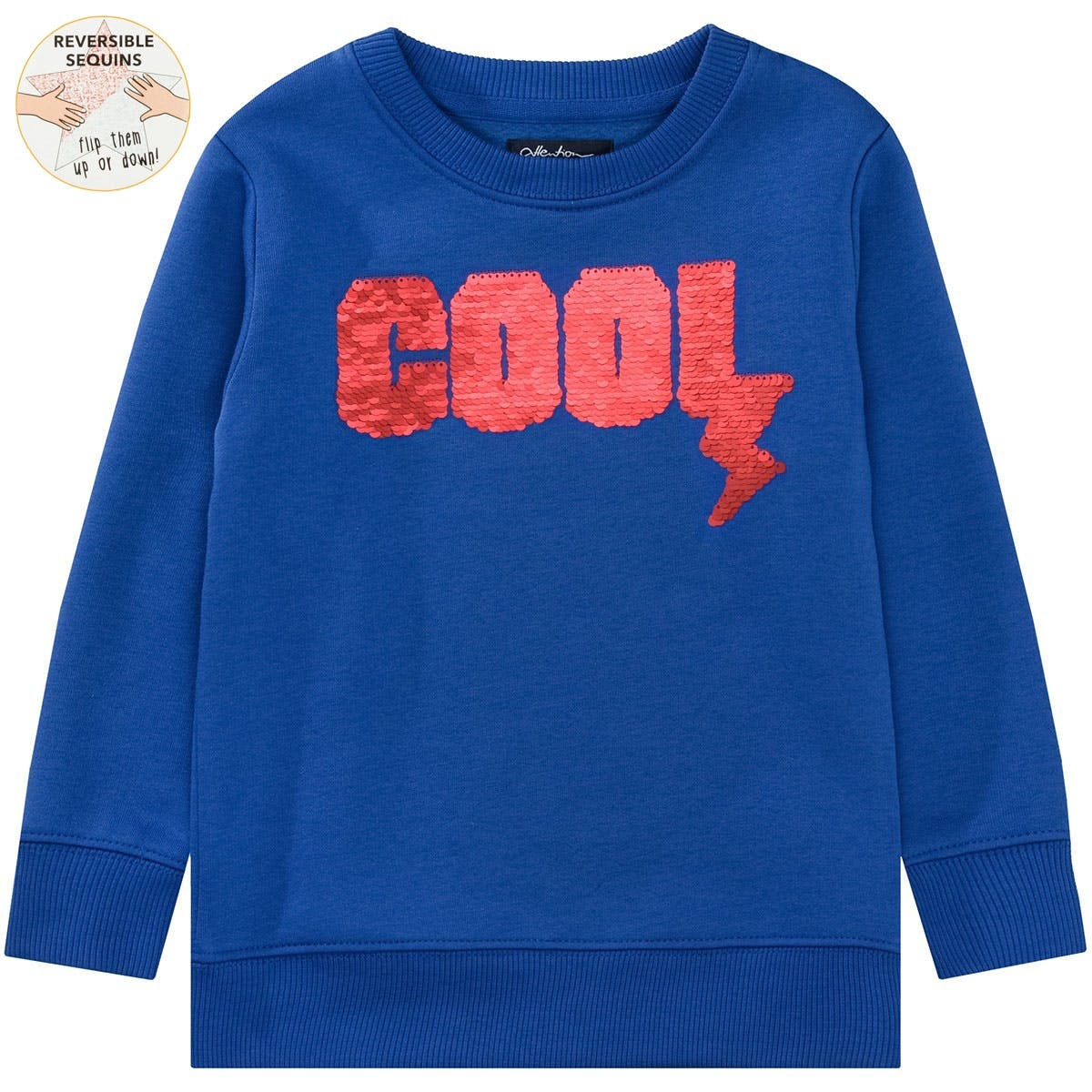 ATTENTION Sweatshirt COOL - Royal