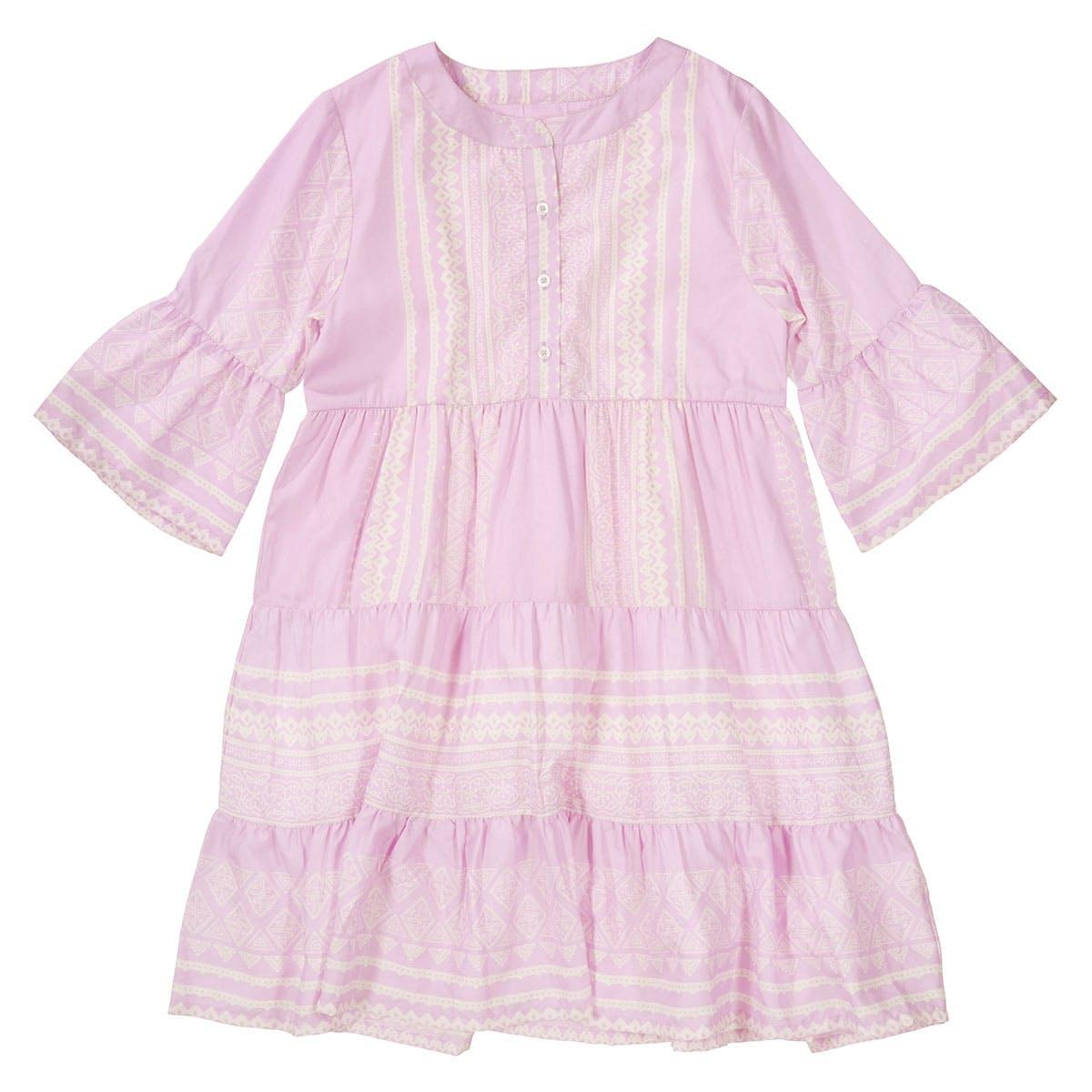 ATTENTION Kleid mit Allover-Print - Vintage Lilac
