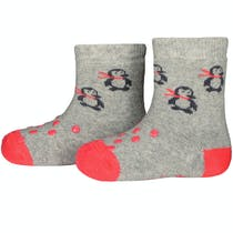 Stoppersocken - Pink Pinguin