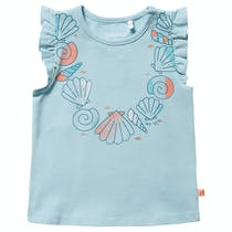 Top Muschel - Soft Aqua