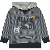 Kapuzensweatshirt HELLO WOOD - Dark Midnight
