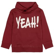Sweatshirt YEAH! - Dark Red