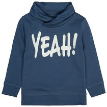 Sweatshirt YEAH! - Washed Blue