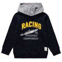 Kapuzen-Sweatshirt RACING - Midnight