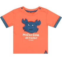 T-Shirt MISTER CRAB - Sunset Red