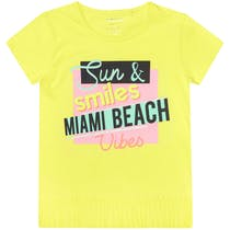 T-Shirt MIAMI BEACH - Pastel Citrus