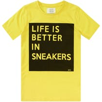 T-Shirt SNEAKERS - Bright Yellow