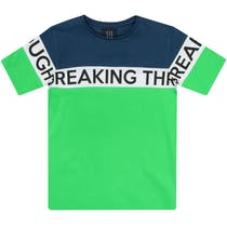 T-Shirt WORDING PRINT - Brigth Green