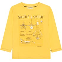 Langarmshirt SHUTTLE - Yellow