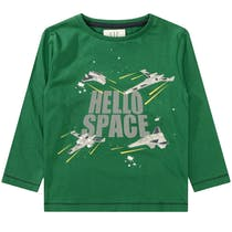 Langarmshirt HELLO SPACE - Green