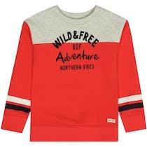 BASEFIELD Sweatshirt Wild And Free - Red