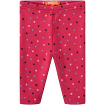 Baby Thermo Leggings Punkte - Rasberry
