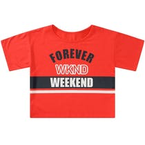 T-Shirt WEEKEND - Red