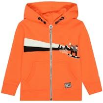 Kapuzensweatjacke Snowboard - Orange