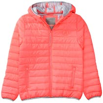 Steppjacke UNLIMITED - Coral Red