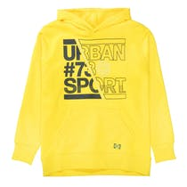 Kapuzensweatshirt URBAN - Yellow
