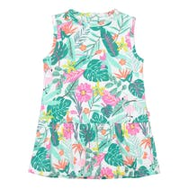 Kleid Alloverprint - Jungle