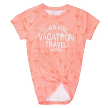 2in1 T-Shirt VACATION - Neon Melon
