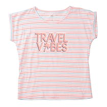 T-Shirt TRAVEL VIBES - Neon Melon