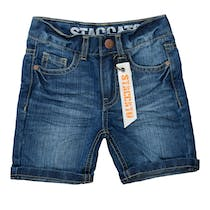 Jeans-Bermudas - Mid Blue Denim