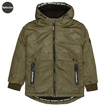 Jacke POSITIVE mit Camouflage-Muster - Olive